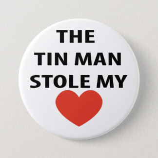 Tin Man 7.5 Cm Round Badge