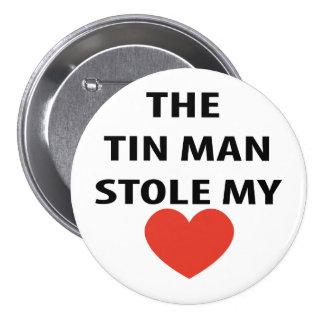Tin Man 7.5 Cm Round Badge