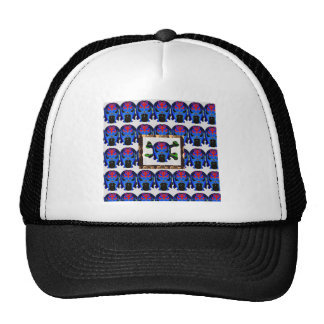 TIN Man BLUE - Ghost Skull Halloween FUN KIDS Gift Hat