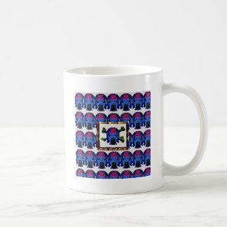 TIN Man BLUE - Ghost Skull Halloween FUN KIDS Gift Coffee Mugs