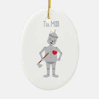 Tin Man Christmas Ornament