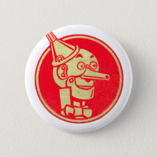 Tin Man, Wizard of Oz 6 Cm Round Badge