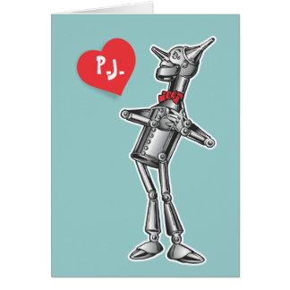 Tin Man- Wizard of Oz Cards