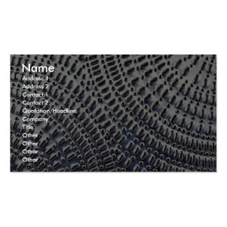 Tin plate texture business card template
