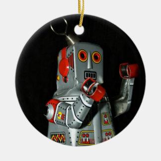Tin Robot Ornament