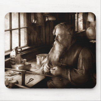 Tin Smith - Making toys for Children Mouse Pad
