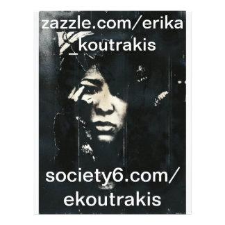 tin, society6.com/ekoutrakis, zazzle.com/erika_... flyer