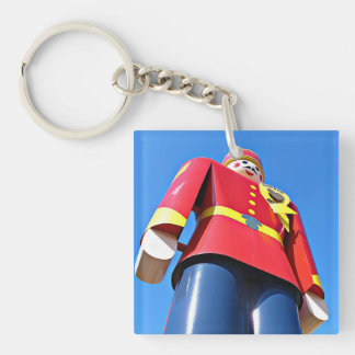 Tin Soldier Double-Sided Square Acrylic Key Ring