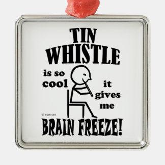 Tin Whistle, Brain Freeze Christmas Tree Ornaments