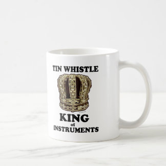 Tin Whistle King of Instruments Mugs