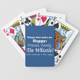 Tin Whistle Makes Me Happy Card Decks