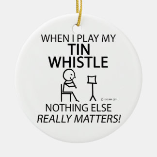 Tin Whistle Nothing Else Matters Ornament