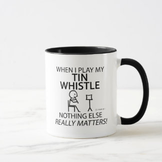 Tin Whistle Nothing Else Matters Mug