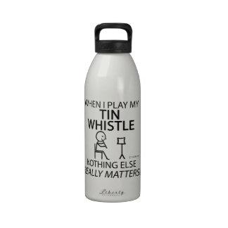 Tin Whistle Nothing Else Matters Reusable Water Bottles