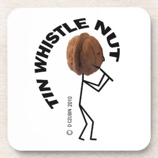Tin Whistle Nut Drink Coasters