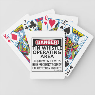 Tin Whistle Operating Area Bicycle Card Decks
