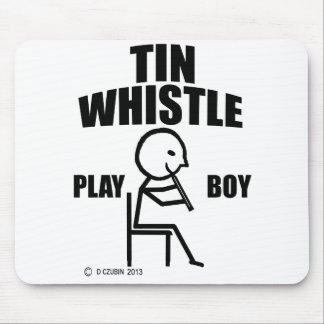 Tin Whistle Play Boy Mousepad