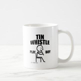 Tin Whistle Play Boy Mug