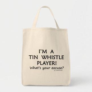 Tin Whistle Player Excuse Bags