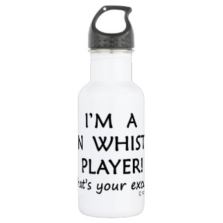 Tin Whistle Player Excuse 532 Ml Water Bottle