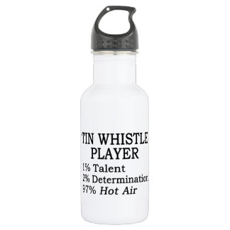 Tin Whistle Player Hot Air 532 Ml Water Bottle