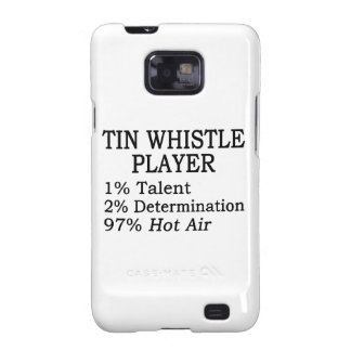 Tin Whistle Player Hot Air Galaxy SII Cover
