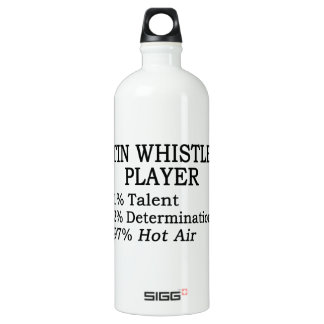 Tin Whistle Player Hot Air SIGG Traveller 1.0L Water Bottle