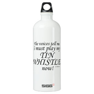 Tin Whistle Voices Say Must Play SIGG Traveller 1.0L Water Bottle