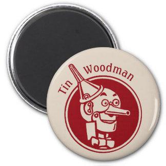 Tin Woodman (Tin Man) Face CC0902 Wonderful Wizard Magnet