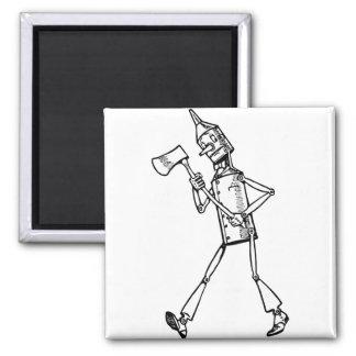 Tin Woodsman Magnet