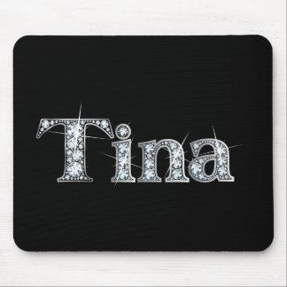 """Tina """"Diamond Bling""""  Mousepad"""