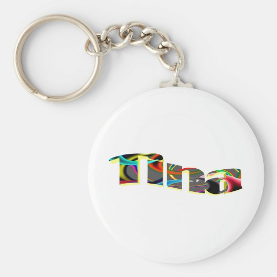 Tina key chain