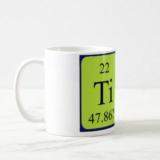 Tina periodic table name mug