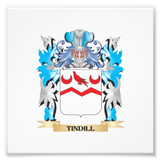 Tindill Coat of Arms - Family Crest Art Photo