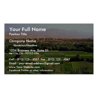 Tinerhir, Morocco Pack Of Standard Business Cards