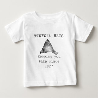 Tinfoil hats. .keeping you safe baby T-Shirt