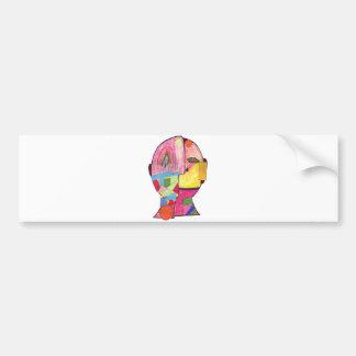 Tinger (pm)-Maggie S Bumper Sticker