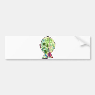 Tinger (pm)-Marley M Bumper Sticker