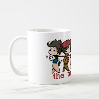 """tinies on leashes"" mug"
