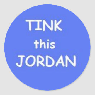 tink this jordan sticker