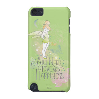 Tinker Bell Love And Happiness iPod Touch 5G Case