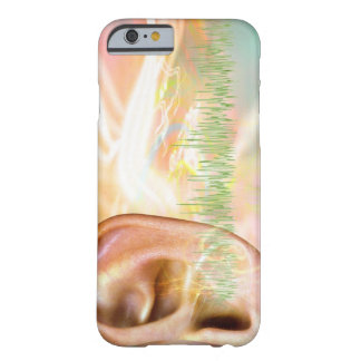 Tinnitus, conceptual computer artwork. barely there iPhone 6 case