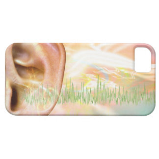 Tinnitus, conceptual computer artwork. iPhone 5 cover