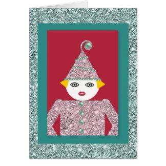 Tinsel Martzkin Greeting Card