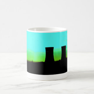 tinsley towers at dawn distant shot basic white mug