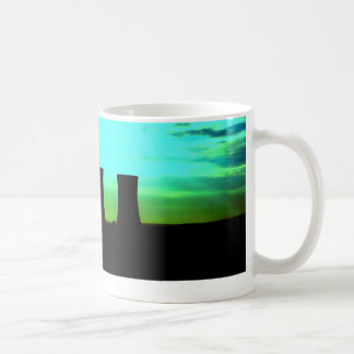 tinsley towers at dawn distant shot coffee mugs