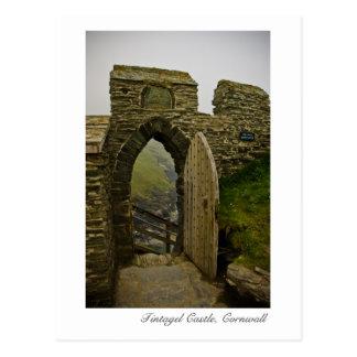 Tintagel Castle, Cornwall Postcard