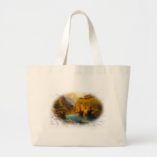 Tintagel, King Arthur's Castle Jumbo Tote Bag