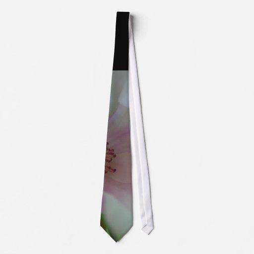 Tinted Heart Wedding Flower Necktie