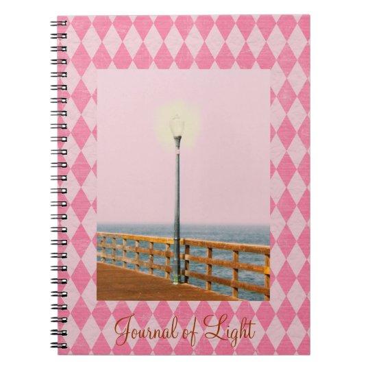 Tinted Pier Lamp Post Pink Argyle Journal